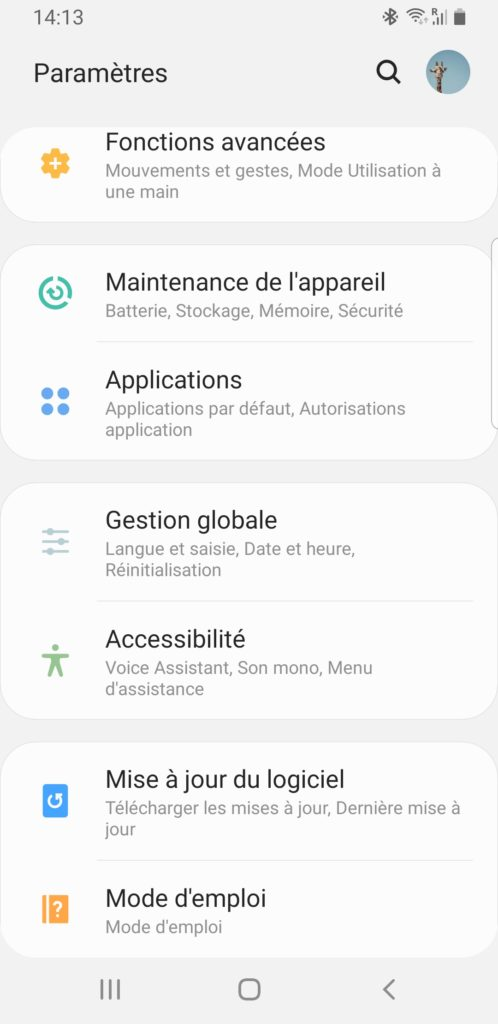 android regler date et heure