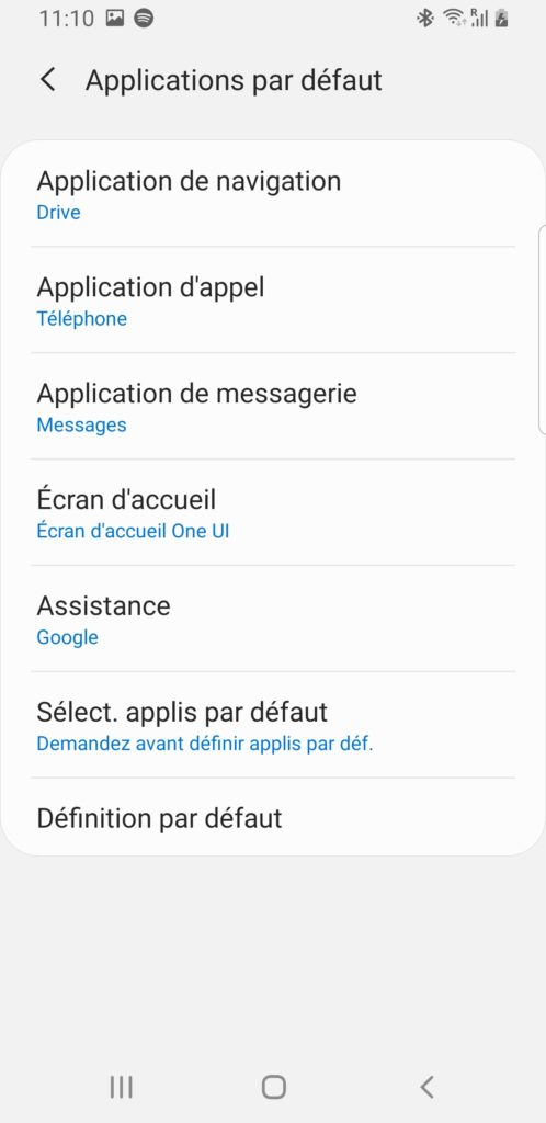 changer appli sms smartphone android